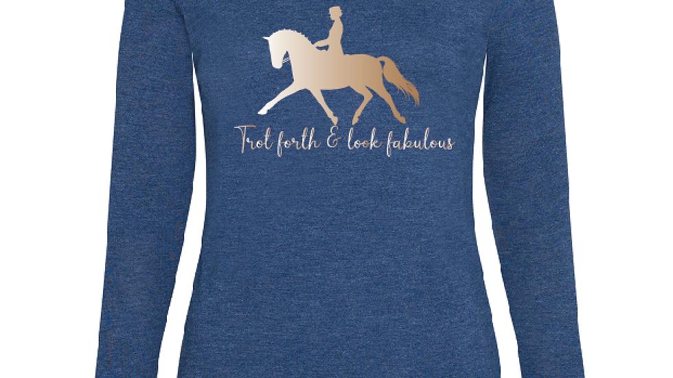 'Trot Forth' Longsleeve T'shirt