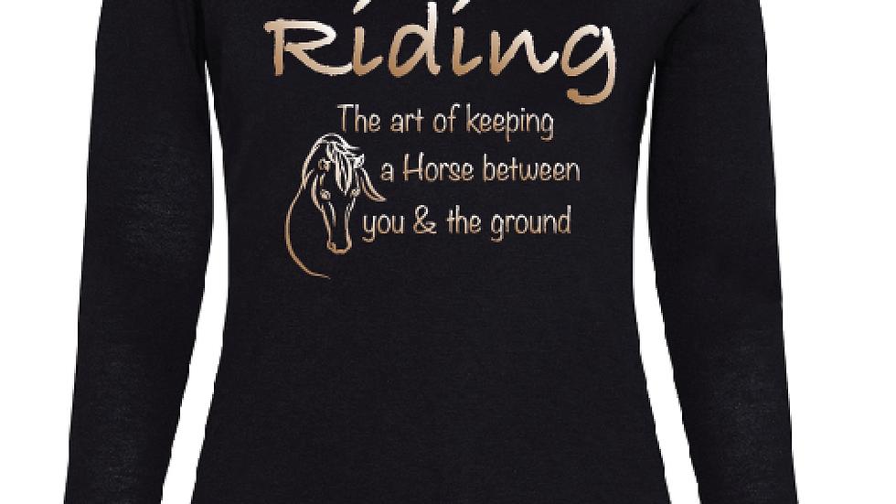 Riding Art  Longsleeve T'shirt