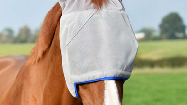 Field Relief Midi Fly Mask (With Ears)