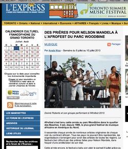 L'express Afrofest 2013