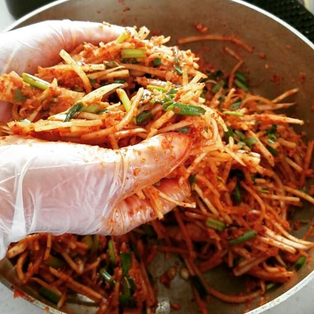 Kimchi stuffing