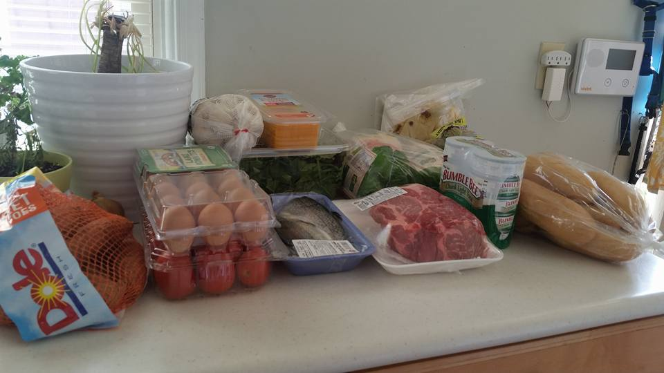 Weekly Meal Prep Set up