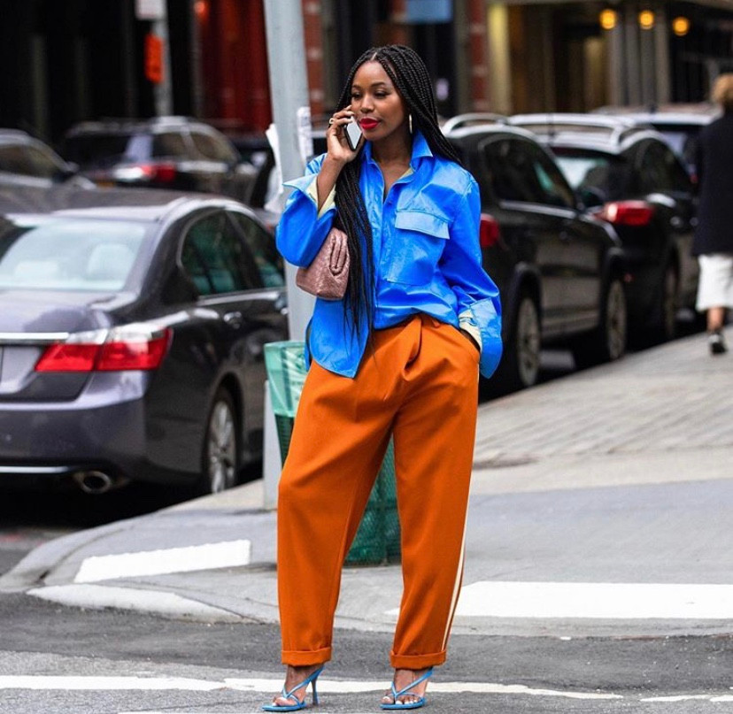 Kahlana Barfield Brown in Cedric Charlier and Bottega Veneta