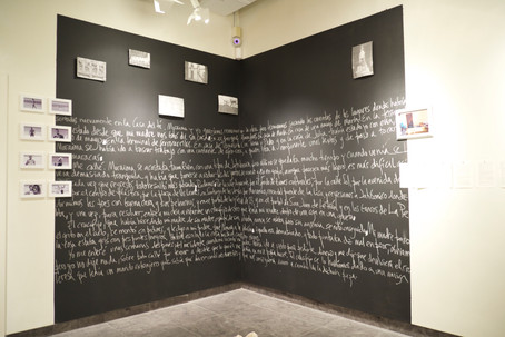 Black Wall rewriting performative space
