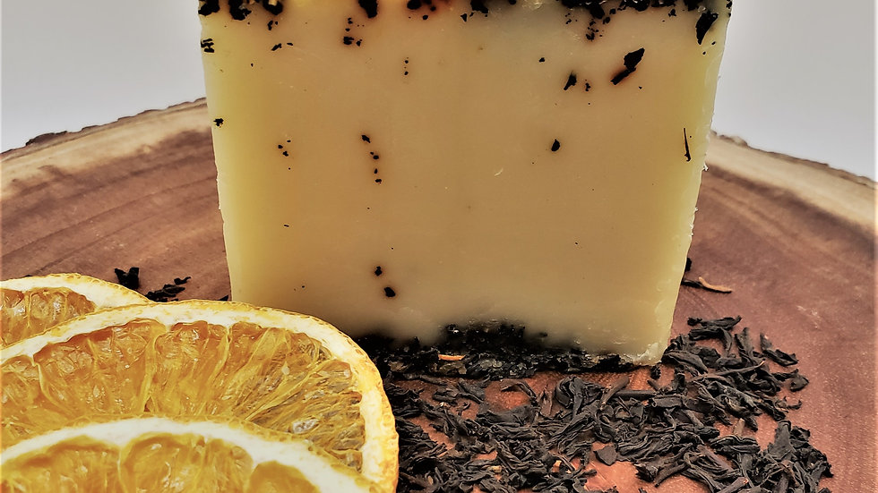 Orange + Black Tea Soap