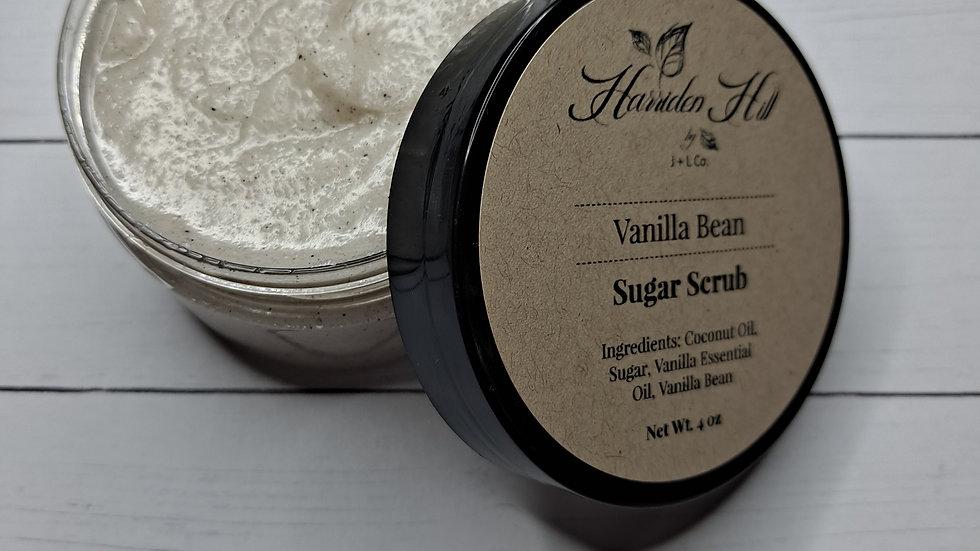 Vanilla Bean Sugar Scrub