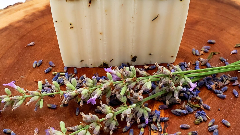 Lavender + Lemongrass Goat's Milk Soap