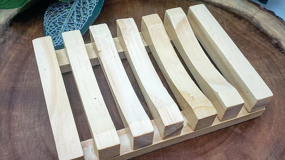 Wood Soap Holder - Natural