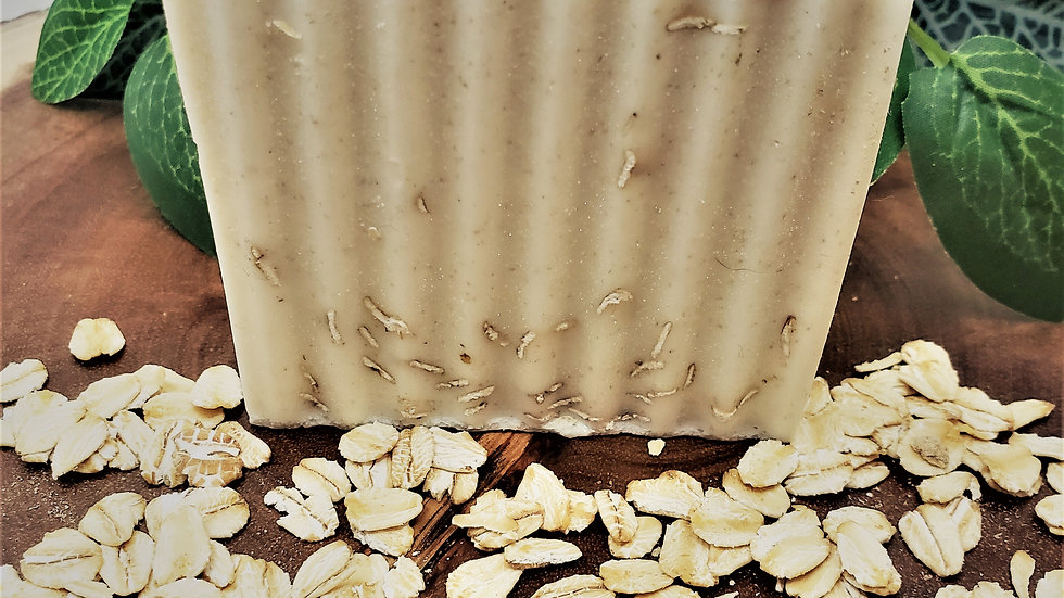 Oatmeal + Honey Goat's Milk Soap