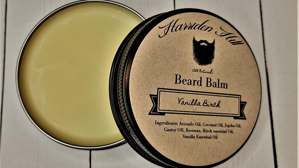 Vanilla Birch Beard Balm