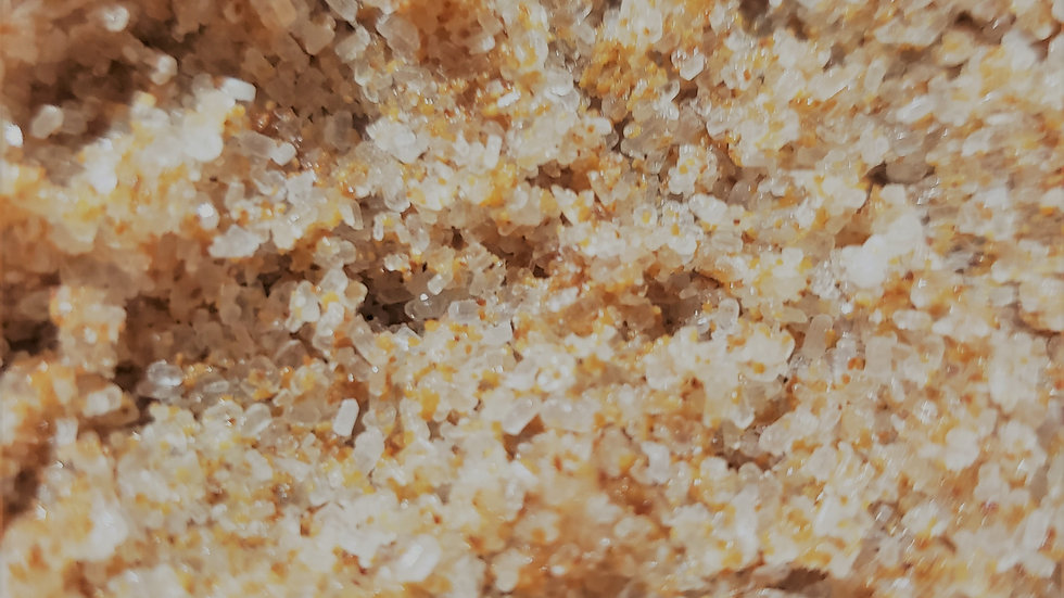 Orange Walnut Salt Scrub