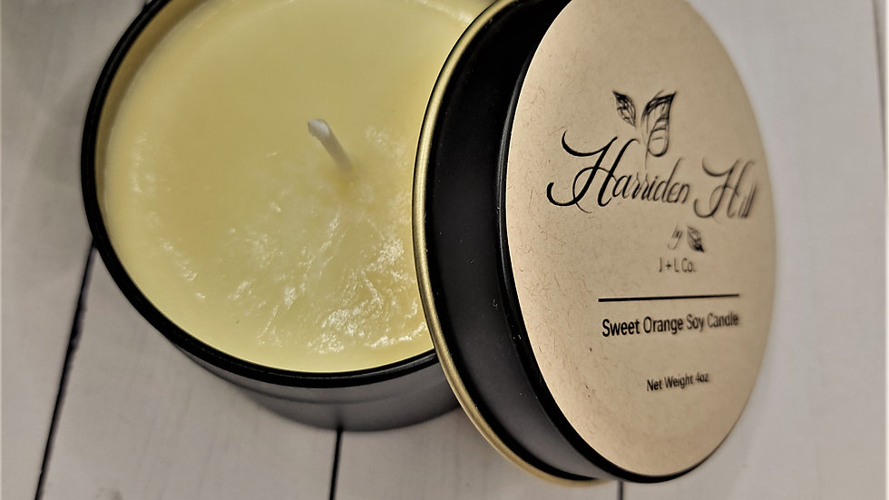 Sweet Orange Small Batch Soy Candle 4oz