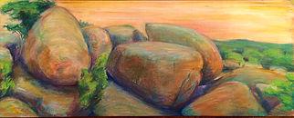 elephant rocks, landscape, matthew epperson, chalk pastel,