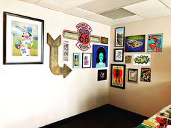 Office Gallery of local art