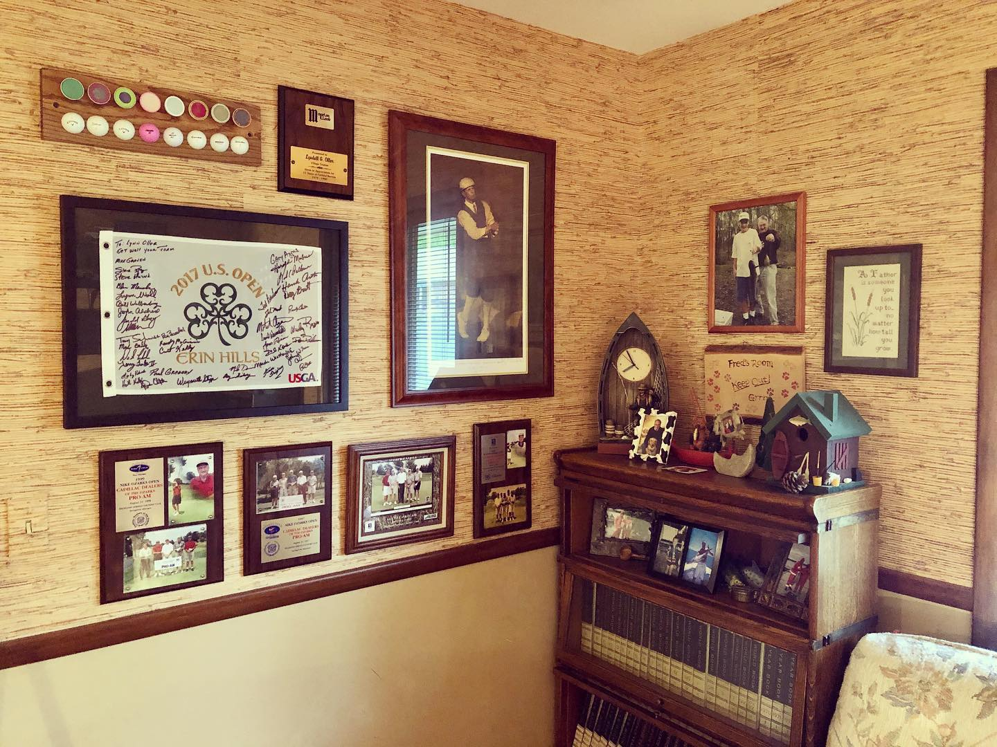 Golf Gallery Wall