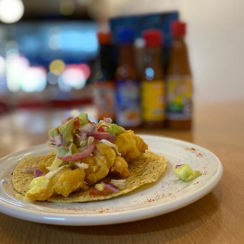 Taco Ensenada ( camarón o pescado )