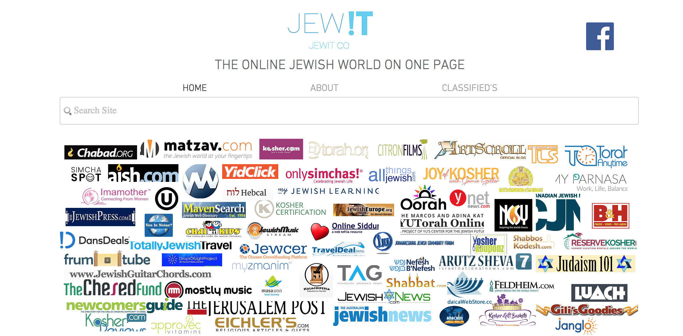 Top Jewish Websites In One Place Jewit Business Directory