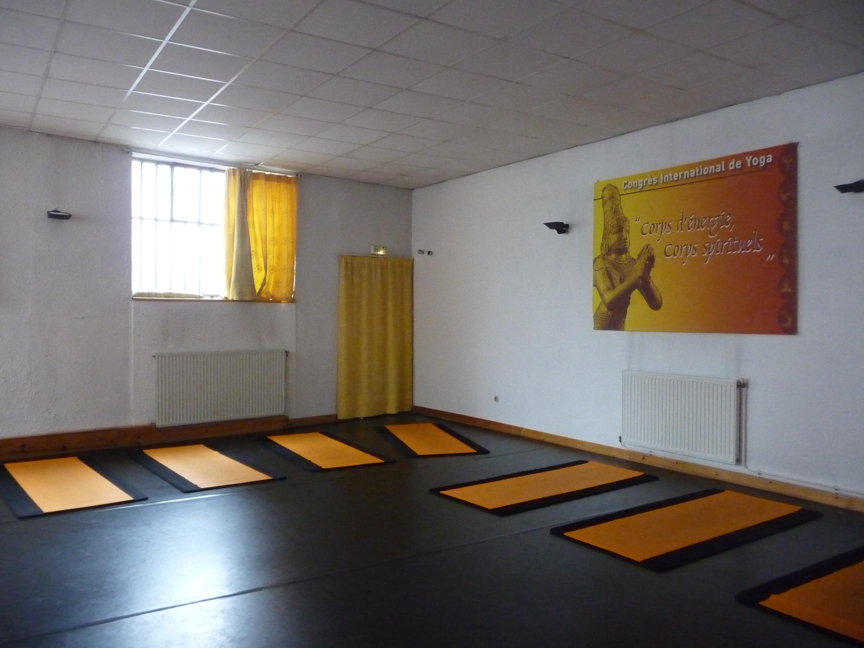 Cours de yoga à Valence
