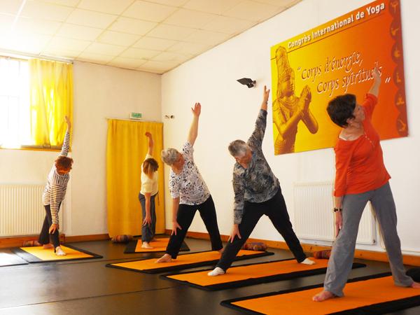 Cours de Hatha-Yoga