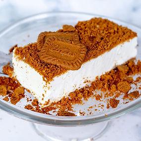 עוגת גבינה פירורים לוטוס