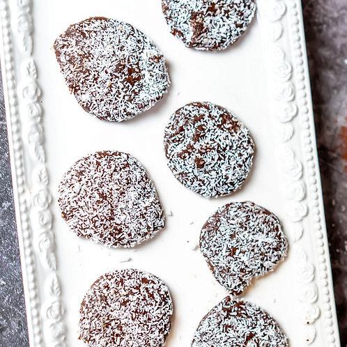 עוגיות מוס שוקולד קוקוס ללא תוספת סוכר