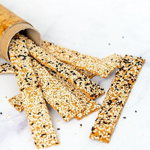 מקלות שומשום קצח קמח מלא
