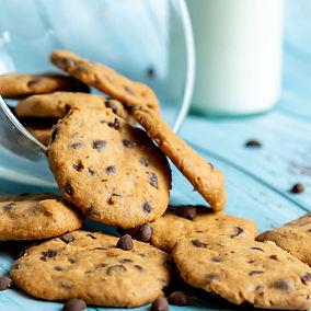 עוגיות שוקולד ציפס ללא סוכר