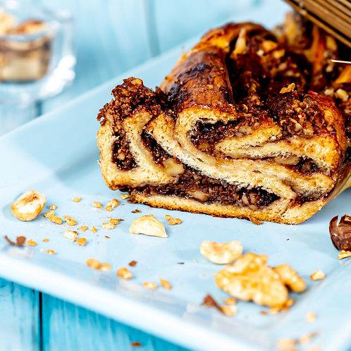 עוגת שמרים אגוזים