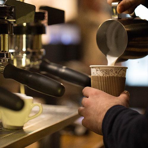 קפה הפוך רגיל