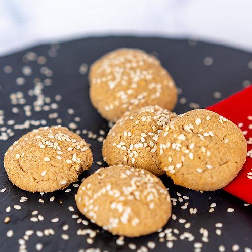 עוגיות טחינה קמח מלא