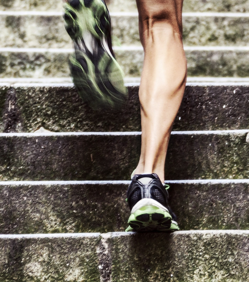Hypertrophy from running