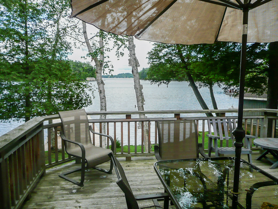 Relax on our deck and enjoy the lake. Thank you for visiting.
