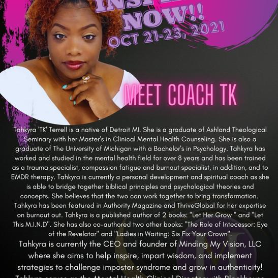 Meet Coach TK