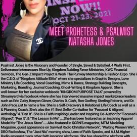 Meet Prophetess & Psalmist Natasha Jones