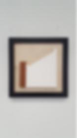 "Floor Plan 02-46 Plaster, mahogany, plywood 9 x 9 x 1"" 2017"