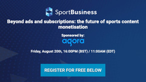 The future of sports content monetisation Webinar