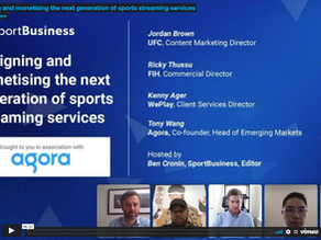 Webinar replay   Designing and monetising the next generation of sports streaming services
