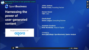 Webinar replay   Harnessing the power of user-generated content