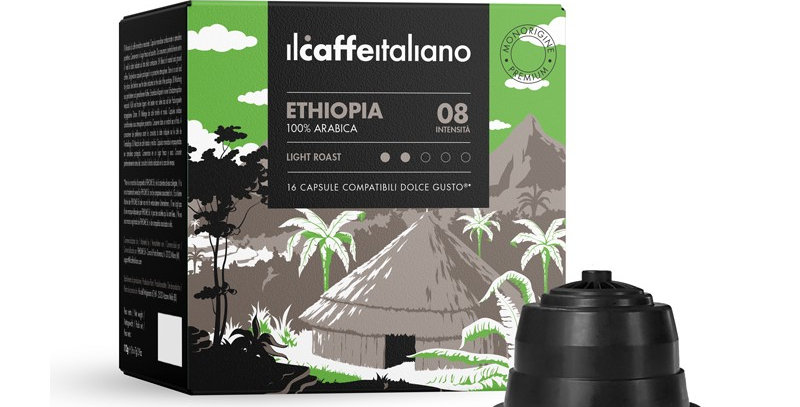 Café Ethiopie Sidamo Dolce Gusto