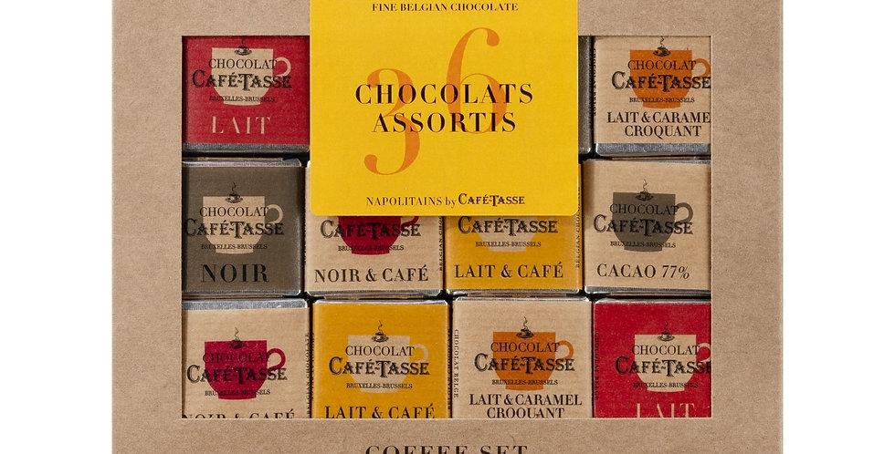 COFFRET NAPOLITAIN 36 PIECES 6 GOUTS