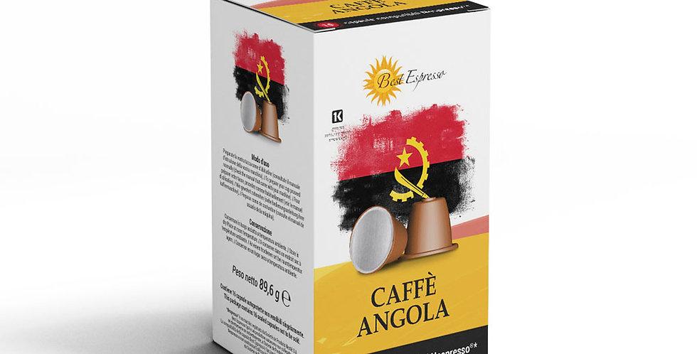 Capsules nespresso 100% robusta-café angolais