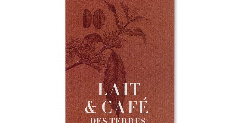 TABLETTE DE CHOCOLAT AU LAIT & CAFE ETHIOPIEN