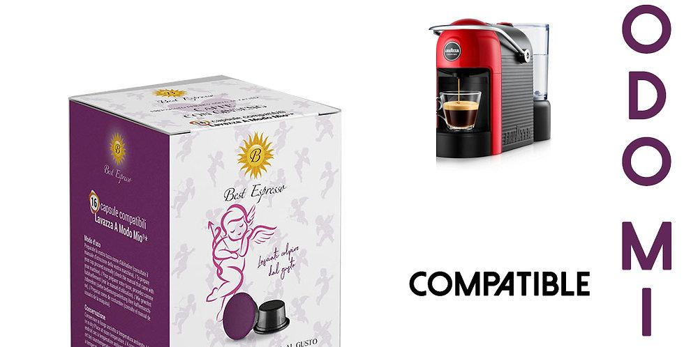 48 CAPSULES DE CAFÉ AU GINSENG COMPATIBLES LAVAZZA MODO MIO