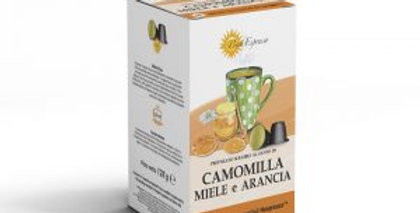 48 (3x16)  CAPSULES DE CAMOMILLE MIEL ET ORANGE COMPATIBLES NESPRESSO