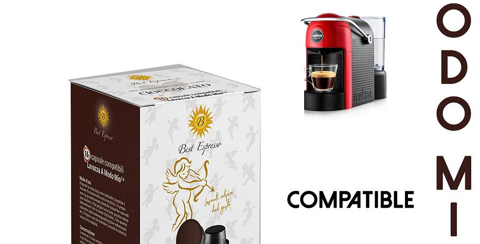 48 CAPSULES DE CAFÉ CHOCOLAT COMPATIBLES BIALETTI