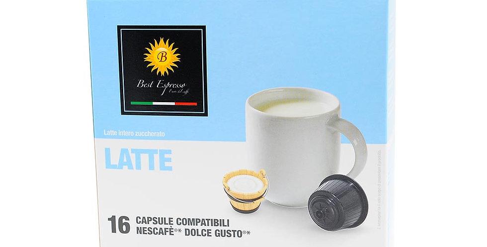 capsules de lait pour machines à café dolce gusto