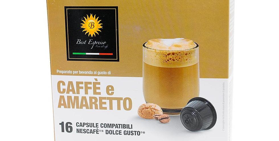 Compatibles Dolce Gusto café amaretto