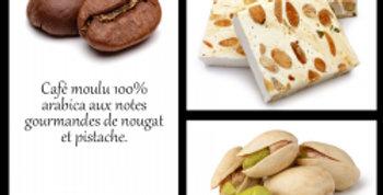 CAFÉ PARFUMÉ TENDRE NOUGAT 100% ARABICA