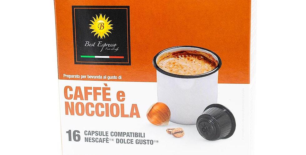 Dolce gusto café à la noisette