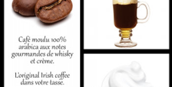 CAFÉ PARFUMÉ IRISH COFFEE 100% ARABICA